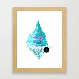 Frozen Fun Framed Art Print