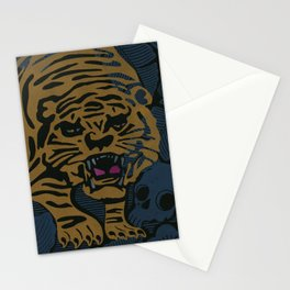 Golden Tiger Stationery Cards
