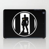 avenger iPad Cases featuring Golden Avenger by Comix