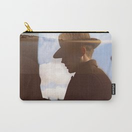 Man with hat Carry-All Pouch