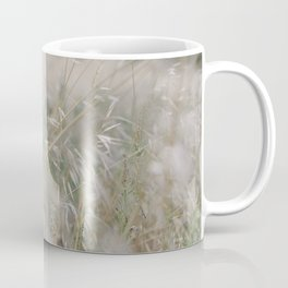 Tall wild grass growing in a meadow Coffee Mug