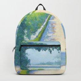 """Gustave Caillebotte """"Vegetable garden, Yerres"""" Backpack"""