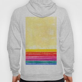 Abstract rainbow pattern in acrylic Hoody