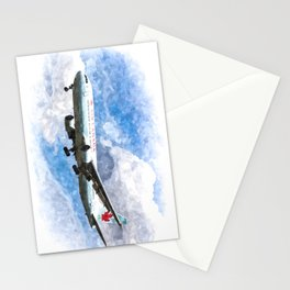 Air Canada Boeing 767 Art Stationery Cards