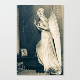 Mourning Angel Canvas Print