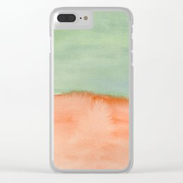 Where are the Martians? Clear iPhone Case