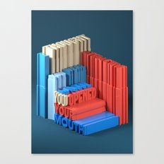 Typographic Insults #4 Canvas Print