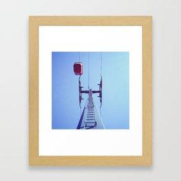 sky hooks Framed Art Print