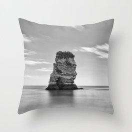 Dona Ana Praia. Algarve. Portugal Throw Pillow