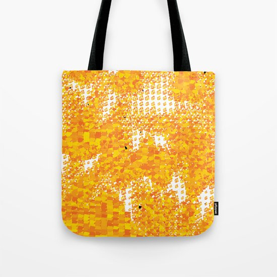 Golden Pebbles Tote Bag