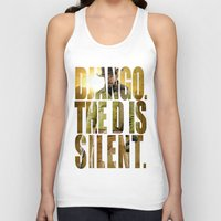 django Tank Tops featuring Django Unchained by SB Art Productions