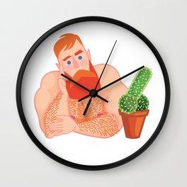 Flirtatious Guy Wall Clock