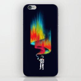 Space vandal iPhone Skin