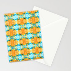 Dragonflies Summer Pattern Stationery Cards