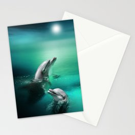 Dolphin Delights Stationery Cards