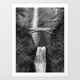 Multnomah Falls - Oregon Art Print