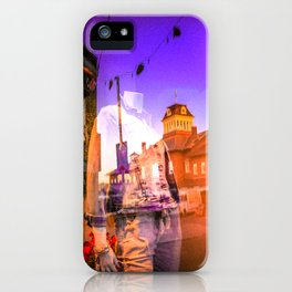Diffraction 1 iPhone Case