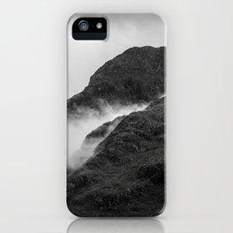 Scotlands Dark Highlands iPhone Case