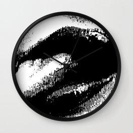 HITTING A LICK Wall Clock