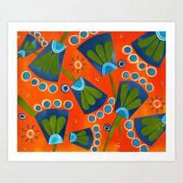 Floral Three Art Print