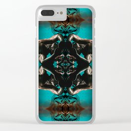 Night Swimming (Synchronized) Clear iPhone Case