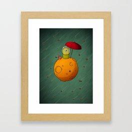 Lonely Planet Framed Art Print