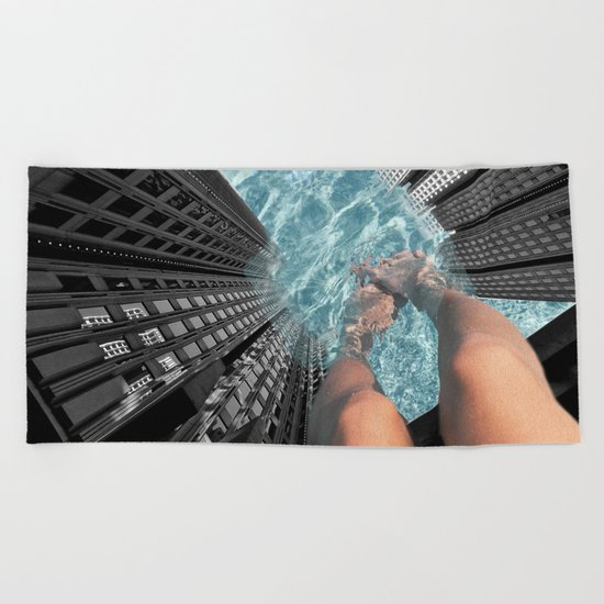 Public Pool Beach Towel