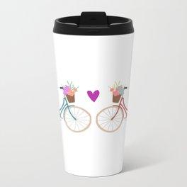 Bicycle Love Metal Travel Mug