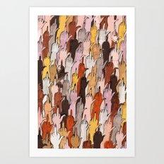 babes Art Print