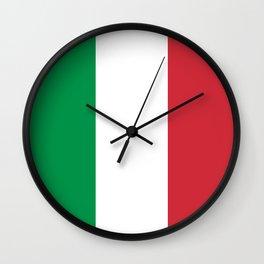 Flag of Italy - Italian flag Wall Clock