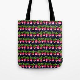 Watercolor radish seamless pattern Tote Bag