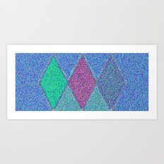 Diamonds Number Five Art Print