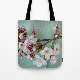 "Cherry blossoms on ""Wa-shi"" Tote Bag"