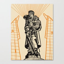 Berlin-Soviet War Memorial Canvas Print