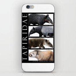 Tapirs of the World iPhone Skin