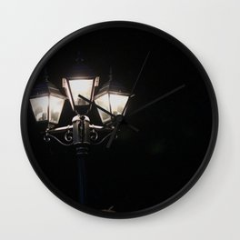 In the light of my lamp Wall Clock