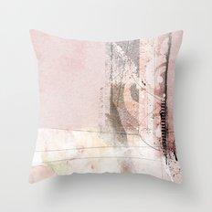stiches Throw Pillow