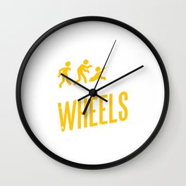 Meals On Wheels Zombie Skater Wall Clock