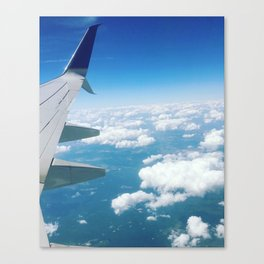 Baesic Up In The Clouds Canvas Print