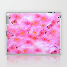 Cherry Blossoms Pink Laptop & iPad Skin