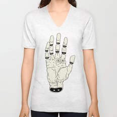 THE HAND OF ANOTHER DESTYNY Unisex V-Neck