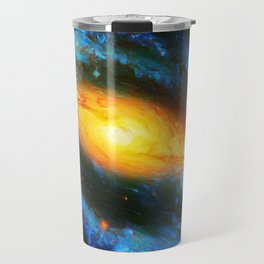 Spiral Galaxy NGC 1300 Travel Mug