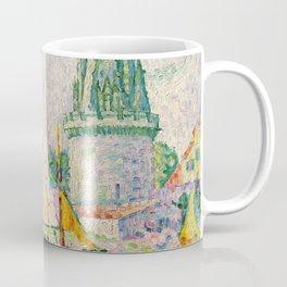 """Paul Signac """"Tour des Quatre Sergents, La Rochelle"""" Coffee Mug"""