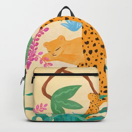 Panthers in Magical Garden Backpack