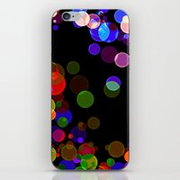 bubbles iPhone & iPod Skins featuring Bubbles by haroulita