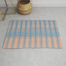 Abstract Stucture Rug