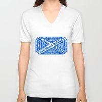 wiz khalifa V-neck T-shirts featuring Scottish slang and phrases by mailboxdisco