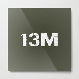 13M Multiple Launch Rocket System/High Mobility Ar Metal Print