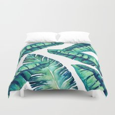 Tropical Glam #society6 #decor #buyart Duvet Cover