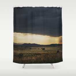 a new mexico storm ... Shower Curtain